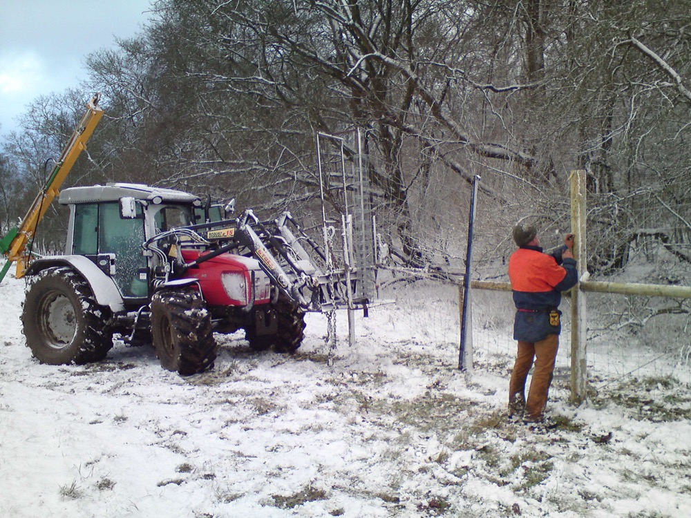 Fencing in all weathers!