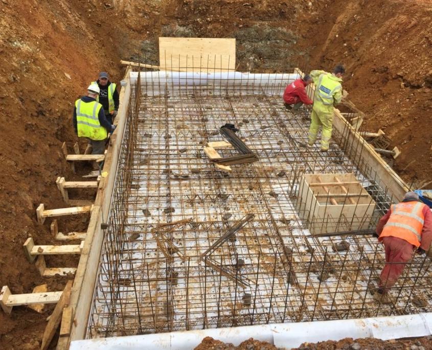 Basement Foundation Work in Hertfordshire