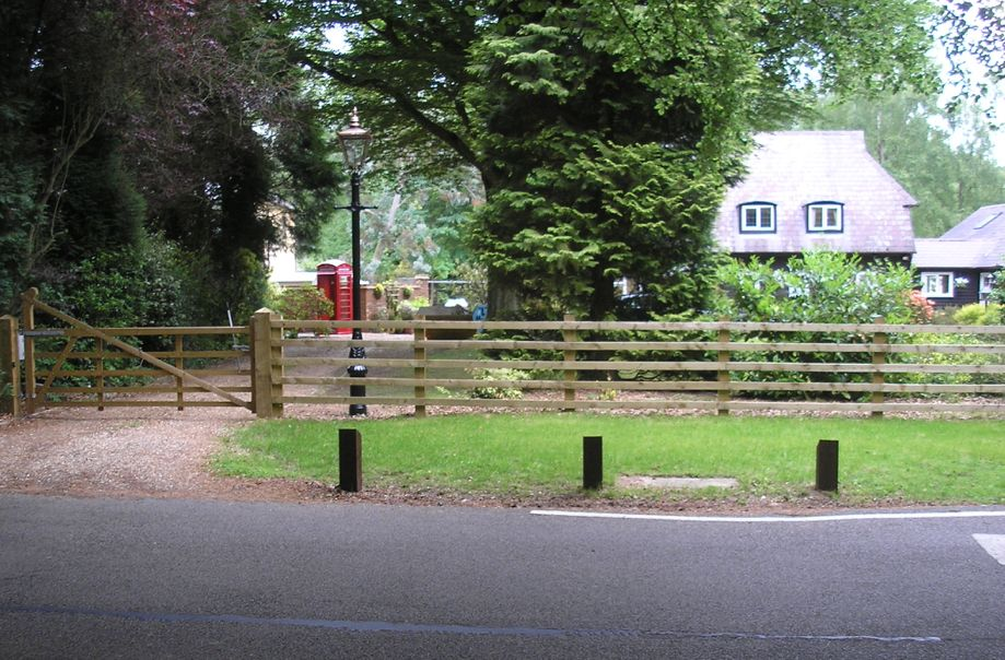 Post & Rail Wooden Farm Fencing
